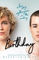 Cover for Birthday: a novel