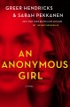 Cover for An anonymous girl