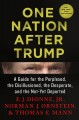 Cover for One nation after Trump: a guide for the perplexed, the disillusioned, the d...