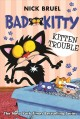 Cover for Bad Kitty. Kitten trouble