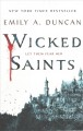 Cover for Wicked saints