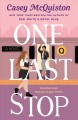 Cover for One last stop