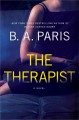 Cover for The therapist