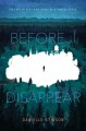 Cover for Before I Disappear