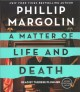 Cover for A matter of life and death