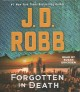 Cover for Forgotten in Death