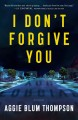 Cover for I don't forgive you