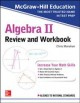 Cover for Algebra II review and workbook