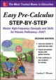 Cover for Easy Pre-calculus Step-by-step