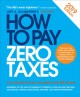Cover for How to pay zero taxes, 2019