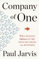 Cover for Company of one: why staying small is the next big thing for business