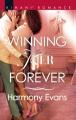 Cover for Winning her forever