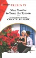 Cover for Nine Months to Tame the Tycoon