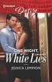 Cover for One night, white lies