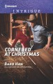 Cover for Cornered at Christmas