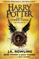 Cover for Harry Potter and the cursed child. Parts one and two