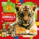 Cover for Big Book of Animals: A Lego Adventure in the Real World