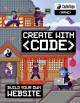 Cover for Create with code: build your own website