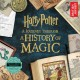 Cover for Harry Potter: a journey through a history of magic