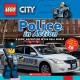 Cover for Police in action. A Lego Adventure in the Real World