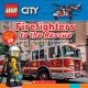 Cover for Firefighters to the rescue.