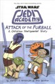 Cover for Attack of the furball: a Christina Starspeeder story