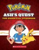 Cover for Ash's Quest: The Essential Guidebook: Ash's Quest from Kanto to Alola