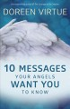 Cover for 10 messages your angels want you to know