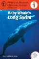 Cover for Baby whale's long swim