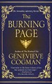 Cover for The burning page [Large Print]