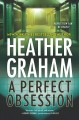Cover for A perfect obsession [Large Print]