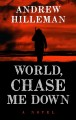 Cover for World, chase me down: a novel [Large Print]