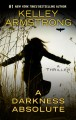 Cover for A darkness absolute [Large Print]