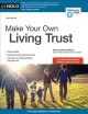 Cover for Make your own living trust