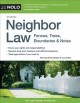 Cover for Neighbor law: fences, trees, boundaries & noise