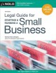 Cover for Legal Guide for Starting & Running a Small Business