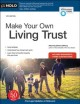 Cover for Make your own living trust, [2021]