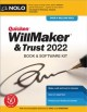 Cover for Quicken Willmaker & Trust 2022: Book & Software Kit