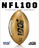 Cover for NFL 100: a century of pro football