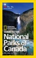 Cover for Guide to the national parks of Canada.