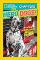 Cover for Hero dogs: true stories of amazing animal heroes!