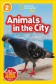 Cover for Animals in the city