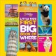 Cover for Little kids first big book of where