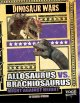 Cover for Allosaurus vs. brachiosaurus: might against height
