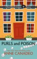 Cover for Purls and poison [Large Print]