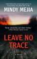 Cover for Leave to trace [Large Print]