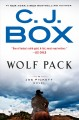 Cover for Wolf pack [Large Print]
