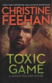 Cover for Toxic game [Large Print]