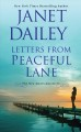Cover for Letters from peaceful lane [Large Print]