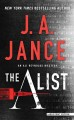 Cover for The a list [Large Print]